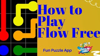 How To Play Flow Free- Great App -  HD 1080p screenshot 3