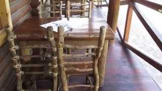 Мебель из натурального дерева. Мебель своими руками. Дизайн. // Олег Карп(Мебель из натурального дерева. Как сделать мебель и дерева своими руками. Шнур, клей, несколько мебельных..., 2015-07-02T19:07:57.000Z)