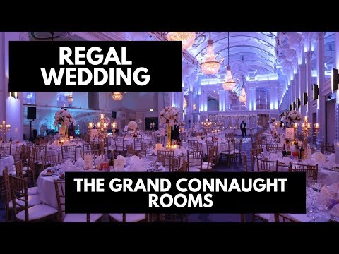 Grand Connaught Room Wedding - London- Florals And Decor By Designer Chair Covers To Go