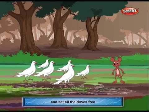 Panchatantra Stories 03 | Ekta He Shakti | Unity Is ...