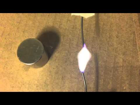 Neodymium Magnet on Rectified vs Non Rectified Plasma Arc