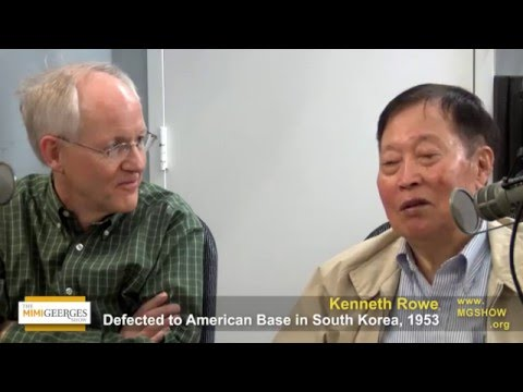 North Korean Defector No Kum Sok (Kenneth Rowe) & Author Blaine Harden