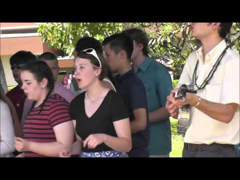 Valley Catholic Choir Hawaii Trip Part Five: Pearl Harbor Performances