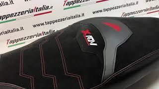 Honda X ADV  Seat cover comfort  Effect Velvet  Www.tappezzeriaitalia.it