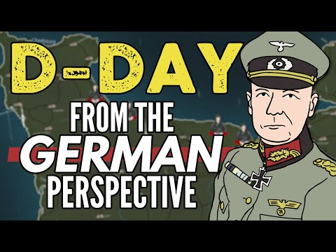 D-Day From The German Perspective | Animated History