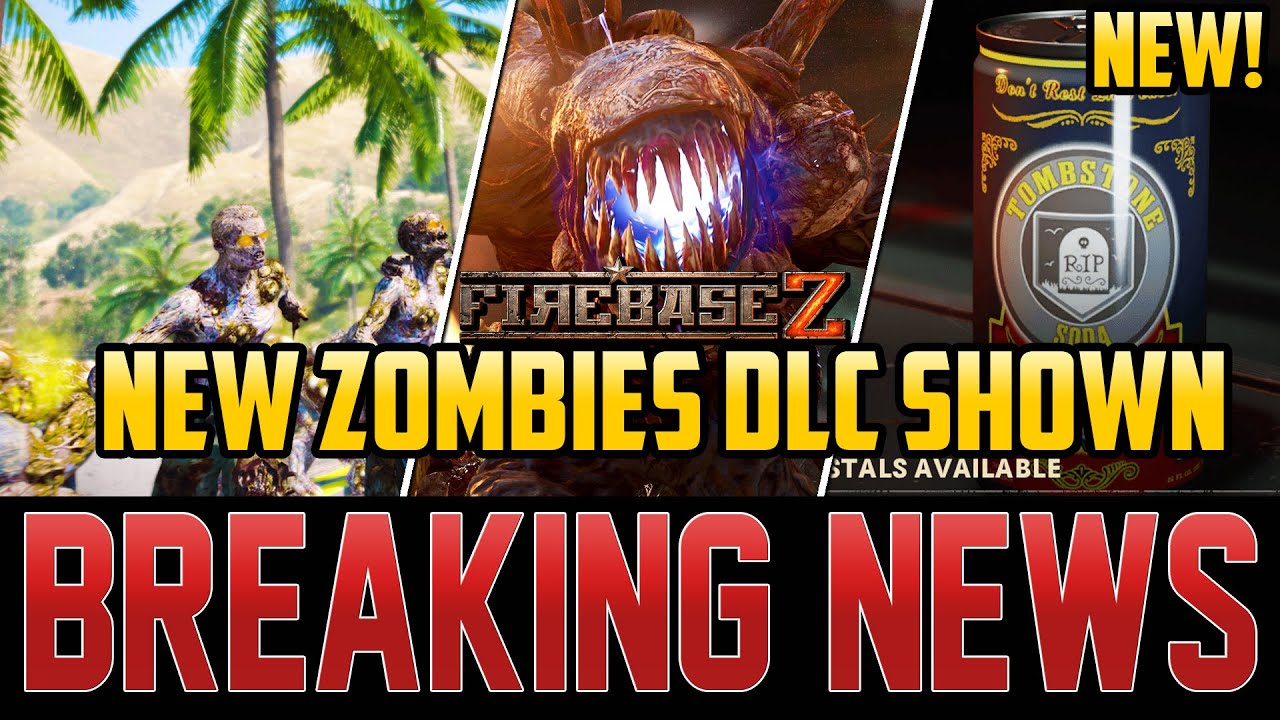 "NEW MAJOR ZOMBIES DLC PACK REVEAL - TREYARCH TO LEAKERS ""THINK AGAIN!"" (Cold War Zombies)"