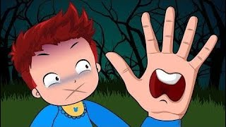 Cartoon children's Cartoons Sun & Moon Babies Loses Her Mouth Funny Story! Learn Color with Finger