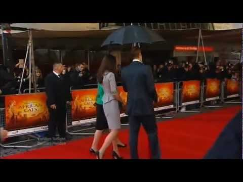 Duke and Duchess of Cambridge attend UK Film Premiere - April 2012