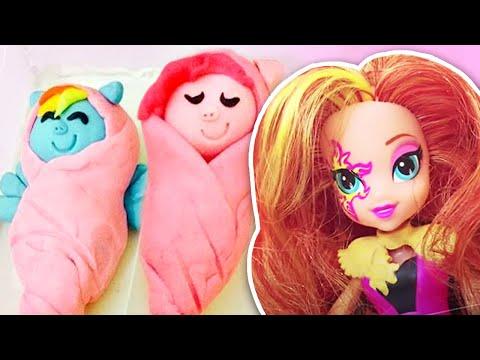 Play Doh Newborn MLP Ponies | Baby