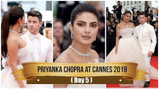 Cannes 2019: Priyanka Chopra exudes royalty in a white Georges Hobeika couture | Fashion