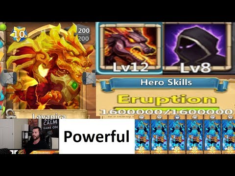 LAVANICA 12/12 GAMEPLAY Testing 8/8 FEINT Castle Clash