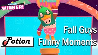 Fall Guys Funny Wins and Fails Highlights!