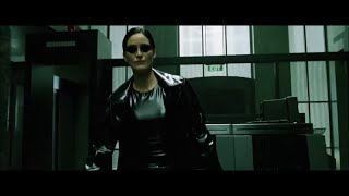 Carrie-Anne Moss Trinity Matrix pvc latex