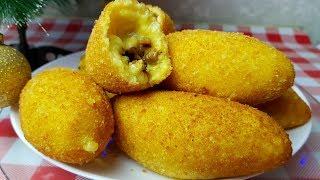 Крокеты картофельные, цыганка готовит. Gipsy cuisine.👍