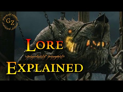 Grond the Battering Ram of Mordor - Lord of the Rings Lore