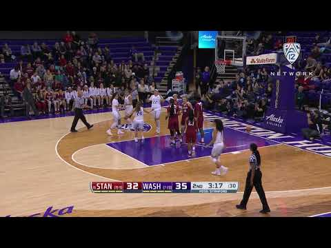 Women's Basketball: Washington's Amber Melgoza scores career-high 40 points against Stanford