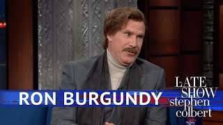 Ron Burgundy Played Golf With Donald Trump