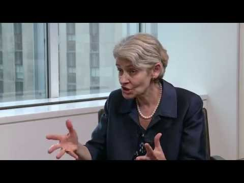 Interview Part Two, Irina Bokova, Director-General of UNESCO and UNSG Candidate