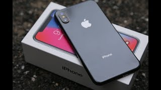 NEW Apple iPhone X Unboxing and Setup (HD)