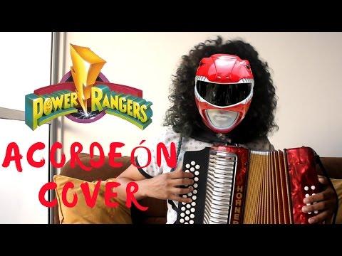 Power RangersMighty Morphin Theme Song Mulett Acordeón Cover