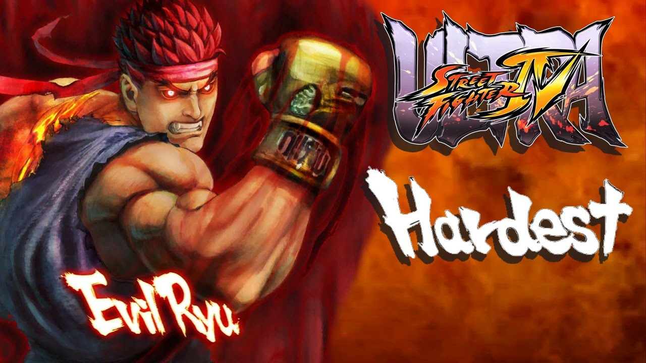 Ultra Street Fighter Iv Evil Ryu Arcade Mode Hardest