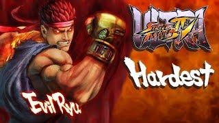 Ultra Street Fighter IV - Evil Ryu Arcade Mode (HARDEST)