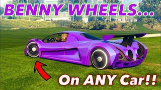LIVE GTA V BENNYS MERGE MODDED CARS - GTA ONLINE PS4