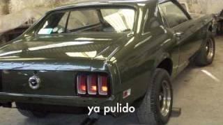 Restauracion Mustang 1970