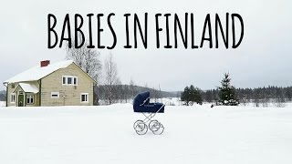 Some facts about babies in Finland