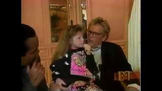 Whittni Wright interview with Nick Nolte 1994.Age 7