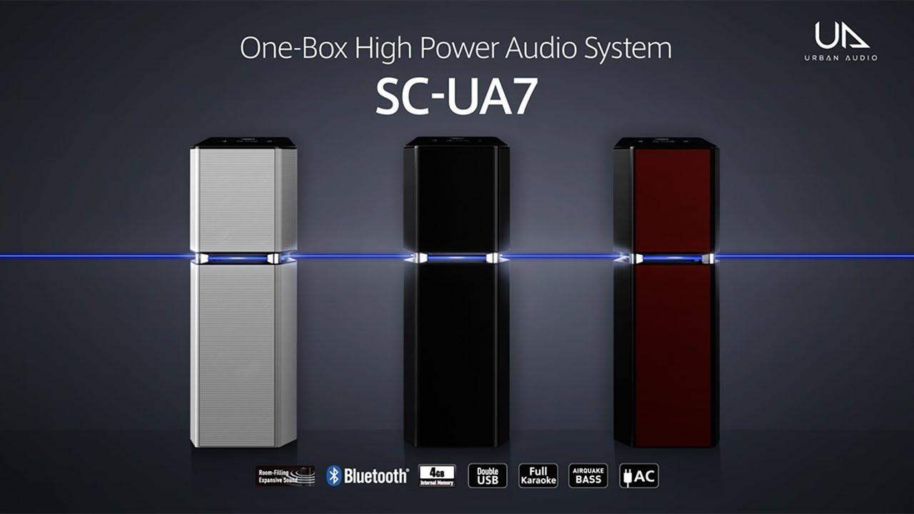 Download Panasonic One-Box High Power Audio System SC-UA7