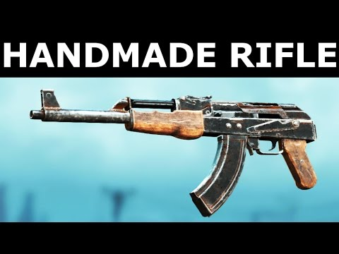 fallout 4 handmade rifle mod fallout 4 nuka world dlc handmade rifle new weapon in 3082