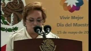 Elba Esther Gordillo se le Lengua la Traba