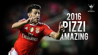 Pizzi - Amazing Skills & Goals | SL Benfica  2016 HD