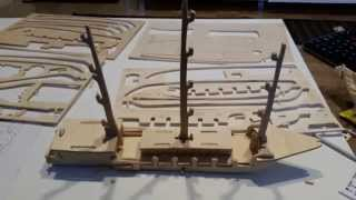 Woodentoy - European Sailing Boat - G-p049