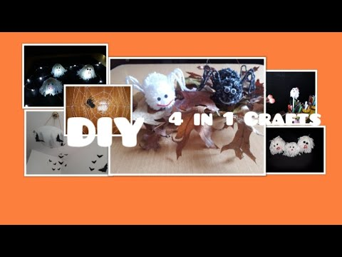EASY AND COOL DIY HALLOWEEN CRAFT IDEAS