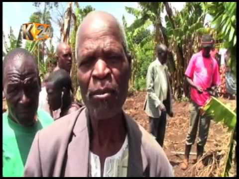 Elderly woman killed by unknown people in Saboti constituency Trans Nzoia county