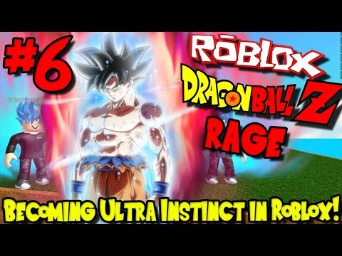 BECOMING ULTRA INSTINCT IN ROBLOX! | Roblox: Dragon Ball Z Rage Remastered - Episode 6