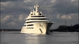 Mega Yacht DILBAR | Weser höhe Farge