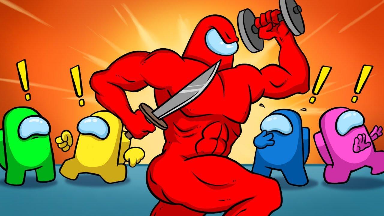 Download Among Us Buff Impostor: Cartoon Animation