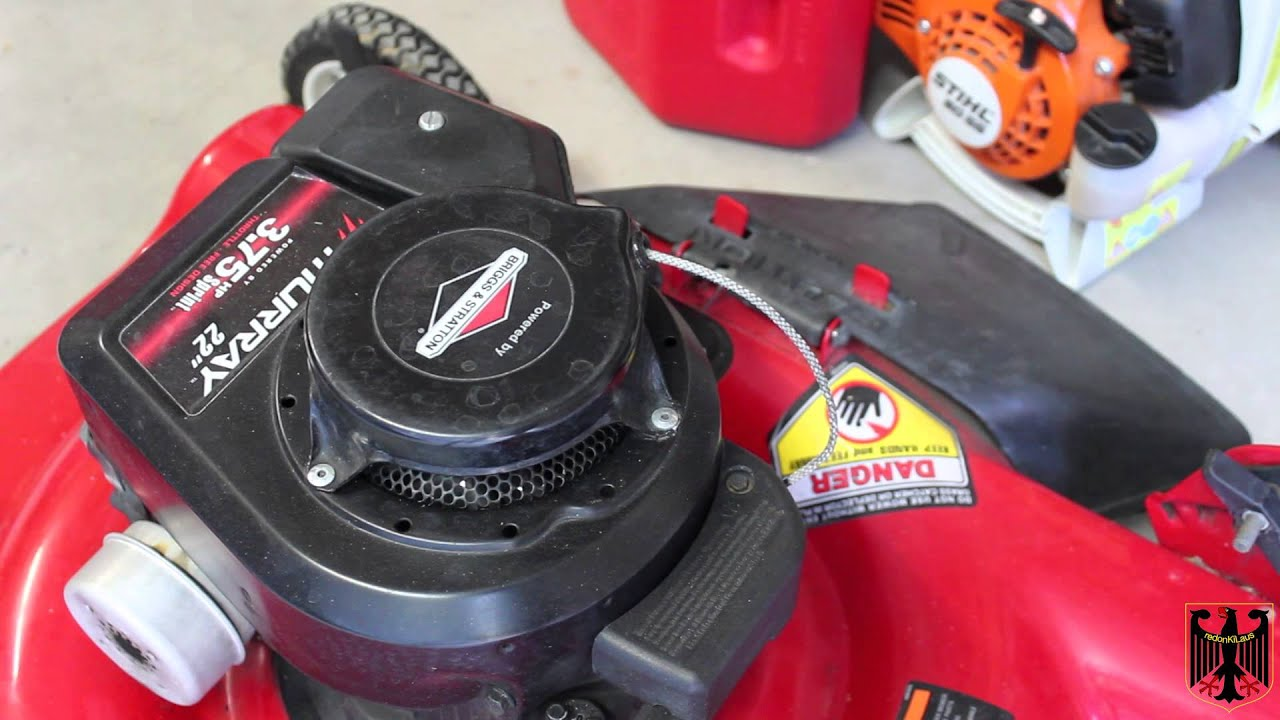Briggs & Stratton - Riding Lawn Mower Engine Model Number ...