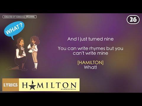 #26 Hamilton - Take A Break (VIDEO LYRICS)