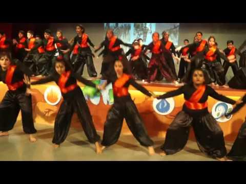 arambh hai prachand,gulaal  dance choreography lotus dance academy rimt world school chandigarh