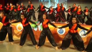 arambh hai prachand,gulaal  dance choreography lotus dance academy rimt world school chandigarh