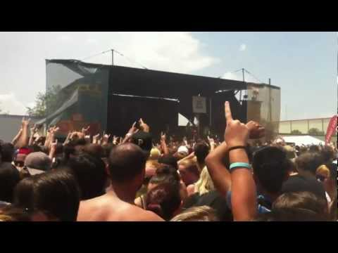 Of Mice & Men - The Depths Live (Feat. Aaron Pauley of Jamie's Elsewhere) (07/28/12)