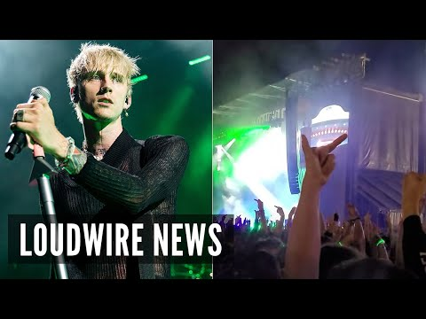 Machine Gun Kelly Punches Fan After Getting Booed at Louder Than Life Festival