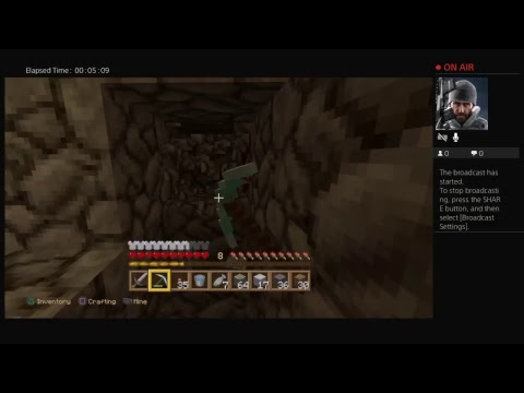 Copfartheads Live PS Broadcast YouTube - Minecraft hauser ps4