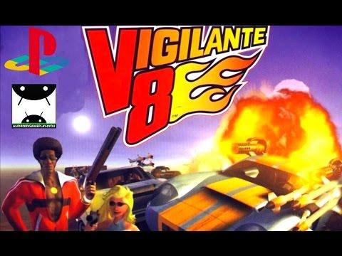 Vigilante 8 (ePSXe emulator) Android GamePlay - 동영상