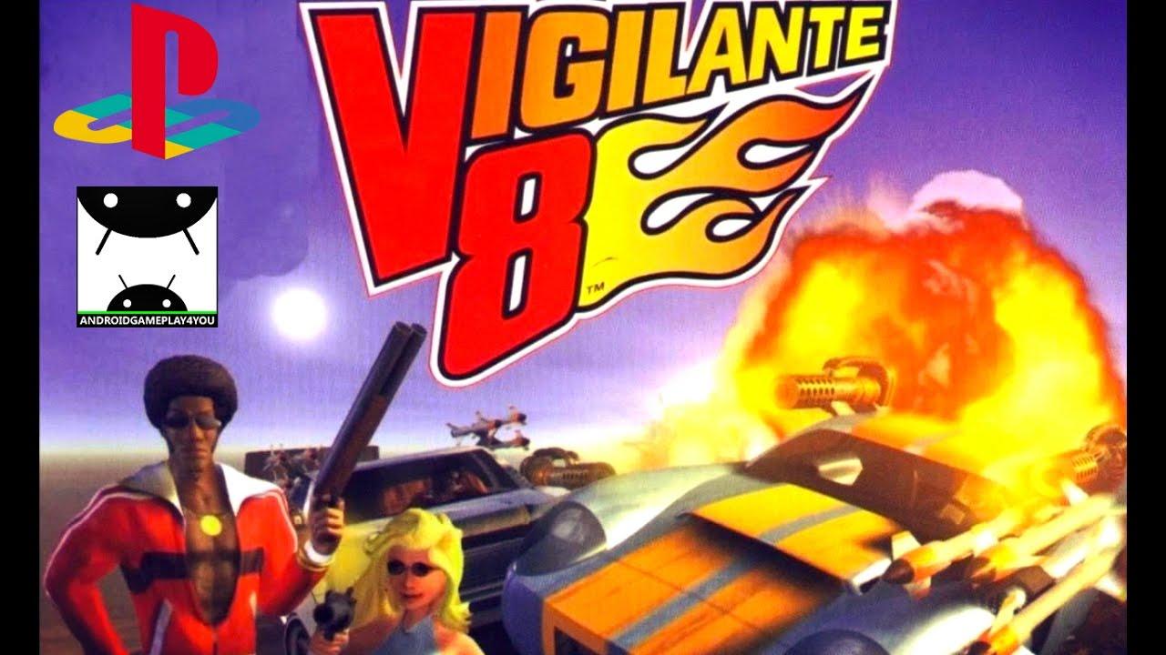 Vigilante 8 Epsxe Emulator Android Gameplay Youtube