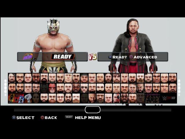 WWE 2K19 FOLDER FOR WWE 2K18 Gamernafz V1.99 / PPSSPP . #1